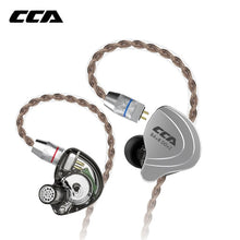 Load image into Gallery viewer, CCA C10 4BA+1DD Hybrid In Ear Earphone HIFI DJ Monito Running Sports Earphone 5 Drive Unit Headset  Noise Cancelling Earbuds - thegsnd