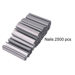 Cage assembly installation tool Plier 1 pcs or Nails 2500 pcs or Nails 2500 pcs Plus 1 pcs Plier Chicken cage Pet cage - thegsnd