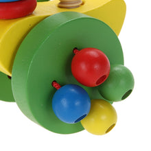 Load image into Gallery viewer, Cartoon Baby Toddler Mini Animal Car Toy Cute Mini Educational Walk Training Pushing Animals Wooden Puzzle Trolley Random Color-Wooden Toy-thegsnd-thegsnd