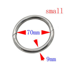 Load image into Gallery viewer, Cattle traction ring Large Circle Stainless steel nose pliers Horse Ass Traction Tool Farm Equipment Livestock supplies 2pcs - thegsnd