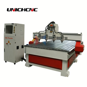 China multi-heads wood cnc router,wooden door processing machine good price - thegsnd
