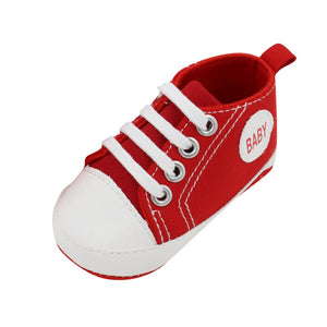 Classic Canvas Newborn Baby Boys Girls First Walkers Toddler Soft Sole Anti-slip Shoes-Baby Shoes-thegsnd