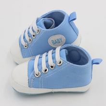 Load image into Gallery viewer, Classic Canvas Newborn Baby Boys Girls First Walkers Toddler Soft Sole Anti-slip Shoes-Baby Shoes-thegsnd