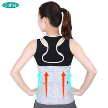 Load image into Gallery viewer, Cofoe Medical Waist Support Protector Brace Back Belt Lumbar Injury Orthosis Fixation Protect Steel c Fixed Orthodontic - thegsnd