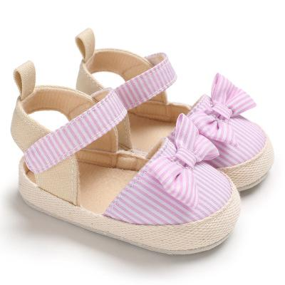 Cotton Fabric Baby Shoes Girls Newborn Baby Shoes For Girls Baby Soft Sole Infant Toddler Walking Princess Shoes First Walkers - thegsnd