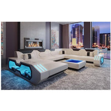 Load image into Gallery viewer, Custom made top quality living room furniture living room sofa set leather sofa 5 6 7 8 seater - thegsnd