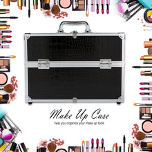 Load image into Gallery viewer, Cute Cosmetic Makeup Organizer New Metal Make Up Storage Box For Jewelry Box Women Organizer Travel Storage Boxes Bag Suitcase - thegsnd