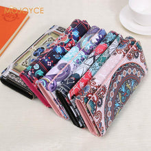 Load image into Gallery viewer, Leather Wallets Long Purse Vintage Cards Holder Clutch Bags Day Clutch Handbag Wallet - thegsnd