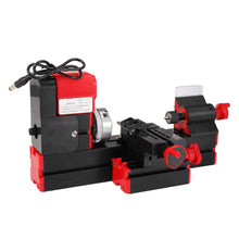 Load image into Gallery viewer, DC12V 3A 36W Mini Lathe Milling Machine Bench Drill DIY Woodworking Power Tool General Woodworking Driller Metal Wood Lathes - thegsnd