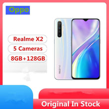 "Load image into Gallery viewer, Oppo Realme X2 Cell Phone Snapdragon 730G Android 9.0 6.4"" Super Amoled 8G RAM 128GB ROM 64.0MP 30W Charge NFC - thegsnd"