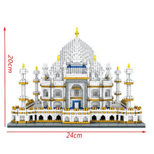 Load image into Gallery viewer, Diamond Mini Building Bricks City Architecture Land marks Taj Mahal Palace 3D Model Children's Educational Toy - thegsnd