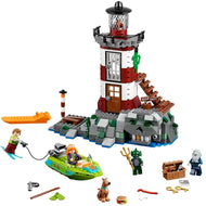 Fit  75903 Scooby Doo Haunted Lighthouse Set Animal Dog Mini Figure Bela 10431 Building Blocks Toys For Children Gifts - thegsnd