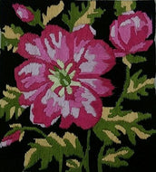 Rose Mallow Flower Impression 🌺 (Multi Color_42*42). - thegsnd