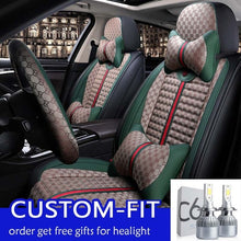 Load image into Gallery viewer, For Hyundai Elantra 2016 2017 pu leather car seat covers car accessories - thegsnd