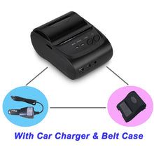 Load image into Gallery viewer, Free SDK Wireless Android Bluetooth Thermal Printer 58mm Mini Bluetooth Thermal Receipt Printer - Bluetooth Android - thegsnd