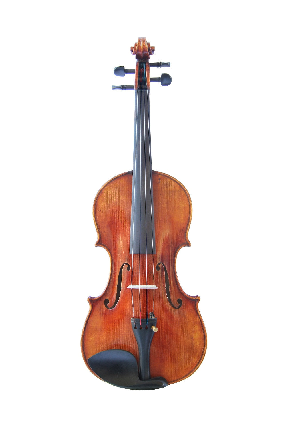 Copy Guiseppe Guarneri del Gesu II 1743 Violin FPVN02 100% Handmade Oil Varnish with Foam Case Carbon Fiber Bow - thegsnd