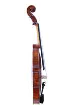 Load image into Gallery viewer, Copy Guiseppe Guarneri del Gesu II 1743 Violin FPVN02 100% Handmade Oil Varnish with Foam Case Carbon Fiber Bow - thegsnd