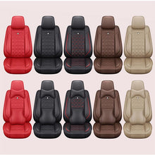 Load image into Gallery viewer, thegsnd (Front + Rear) Special Leather car seat covers For Hyundai ELANTRA i10 i20 Tucson IX35 IX25 Sonata Santafe Accent automobiles  <span class=money>$237.8</span> Car Accessories, Car Seat Cover, Elantra Seat Cover, Seat Cover Car Seat Cover <span class=money>$280.8</span>