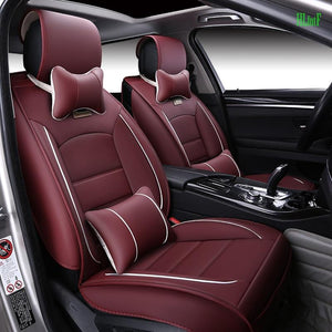 thegsnd (Front and Rear) luxury Leather Covers For Hyundai solaris ix35 i30 ix25 Elantra accent tucson Business seat cover  <span class=money>$179.8</span> Car Accessories, Car Seat Cover, Elantra Seat Cover, Seat Cover Car Seat Cover <span class=money>$211.8</span>