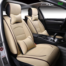Load image into Gallery viewer, thegsnd (Front and Rear) luxury Leather Covers For Hyundai solaris ix35 i30 ix25 Elantra accent tucson Business seat cover  <span class=money>$179.8</span> Car Accessories, Car Seat Cover, Elantra Seat Cover, Seat Cover Car Seat Cover <span class=money>$211.8</span>