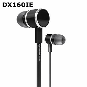 Genuine Beyerdynamic DX160IE DX160 IE in ear earphones HiFi earphones perfect bass sound Short Cable+Extend Cable design - thegsnd