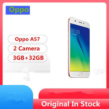 "Load image into Gallery viewer, Global Firmware Oppo A57 4G LTE Smart Phone Snapdragon 435 Android 6.0 5.2"" IPS 1280x720 3GB RAM 32GB ROM 16.0MP Fingerprint - thegsnd"
