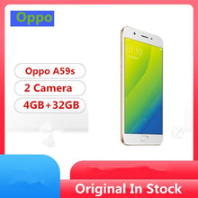 "Load image into Gallery viewer, Global Firmware Oppo A59S 4G LTE Smart Phone MTK6750 Octa Core Android 5.1 5.5"" IPS 1280x720 4GB RAM 32GB ROM 16.0MP Fingerprint - thegsnd"