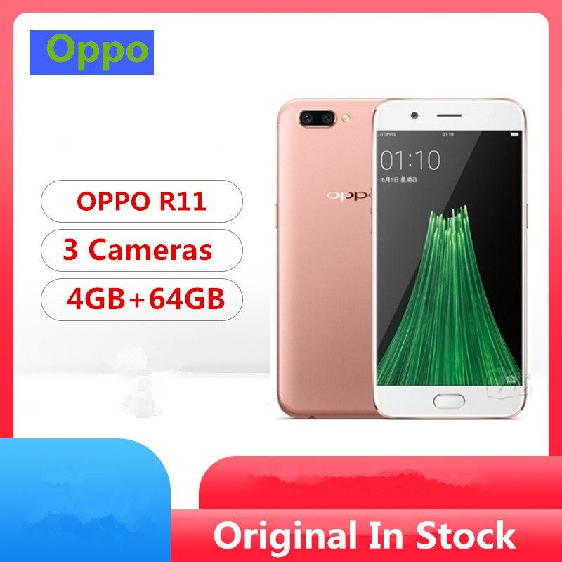 Global Firmware Oppo R11 4G LTE Smart Phone Snapdragon 660 Android 7.1 5.5