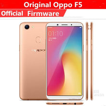 "Load image into Gallery viewer, Global Version Oppo F5 4G LTE Cell Phone MTK6763 Android 7.1 6.0"" IPS 2160X1080 4GB RAM 64GB ROM 20.0MP Fingerprint - thegsnd"