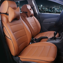 Load image into Gallery viewer, HLFNTF Custom leather car seat cover For Hyundai tucson ix35 i30 ix25 Elantra accent Sonata solaris car accessories seat cushion - thegsnd