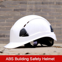 Load image into Gallery viewer, Helmet Construction Climbing Work Protective Helmet Hard Hat Cap Outdoor Breathable Engineering Rescue Helmet Safety - thegsnd