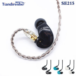 Hi-FI MMCX SE215 stereo Noise Canceling 3.5MM In ear Earphones With Separate Cable headset For Shure SE215 SE535 headphone - thegsnd