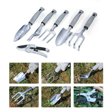 Load image into Gallery viewer, High Quanlity Gardenindg Tools Aluminum Garden Tool Set Heavy Duty Gardening Hand Tools with Ergonomic Handles Gardening Kit - thegsnd