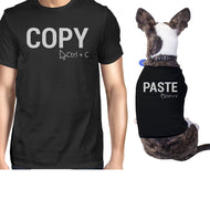 Copy And Paste Small Dog and Owner Matching Shirts Small Dog ONLY-Apparel & Accessories-365 Printing-Black-XX-Large-Pet Large-thegsnd