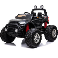 Mototec Monster Truck 4x4 12v Black (2.4ghz)-Big Kid Toys-MotoTec-thegsnd