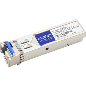 AddOn Dell Force10 Compatible TAA Compliant 1000Base-BX SFP Transceiver (SMF, 1490nmTx-1310nmRx, 10km, LC, DOM) - thegsnd