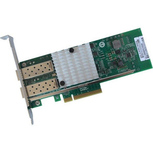 IBM Compatible 81Y8021 - PCI Express x8 Network Interface Card (NIC) 2x Open SFP+ Ports Intel 82599 Chipset Based - thegsnd