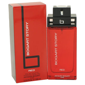Bogart Story Red by Jacques Bogart Eau De Toilette Spray 3.4 oz for Men - thegsnd