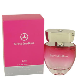 Mercedes Benz Rose by Mercedes Benz Eau De Toilette Spray 2 oz for Women - thegsnd