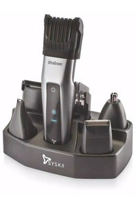 Syska HT3052K Grooming Kit (Black/Silver)-Product for Groom-thegsnd