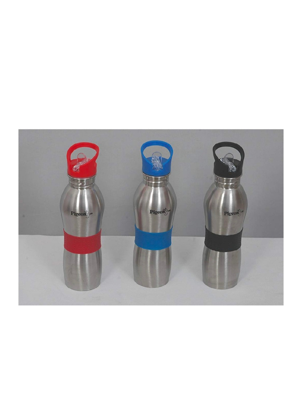 Pigeon Playboy Sport Water Bottle, 750ml (Pack of 3 Red, Black & Blue) - thegsnd