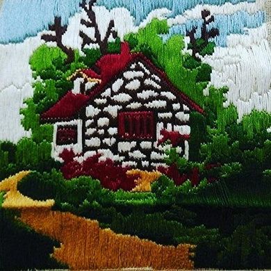 Block Cabin(Multi Color_36*36 cm). - thegsnd