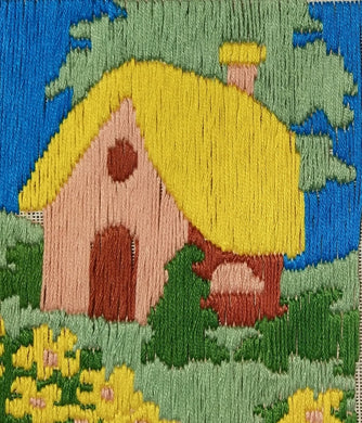 Fairyland Thread Painting, Embroidary,Threatning (Multi Color_31*29). - thegsnd