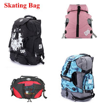 Load image into Gallery viewer, Inline Skates Roller Skate Shoes DC Skating Bag Waist Middle Large Backpack for SEBA for Powerslide for Flying Eagle Adults Kids - thegsnd
