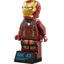 Load image into Gallery viewer, Iron Man Hulkbuster Legoing 76105 Marvel Ironman Avengers Super Heroes Model Building Blocks Boys Birthday Gifts Children Toys - thegsnd