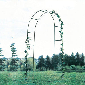 Iron curved wedding arch frame industrial garden park cold scaffolding tools home decoration accessories - thegsnd