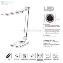 Load image into Gallery viewer, Italy flicker free led desk Lamps office table lamp student reading lamp fashion light Free rotation Angle eyeshield SRY-1229S - thegsnd