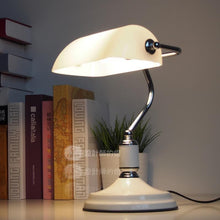 Load image into Gallery viewer, Jiang Jieshi desk lights Designer lamp table Lamps creative European bedroom bed decoration American retro bank desk lamp ZCL - thegsnd