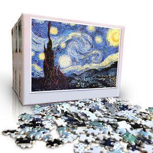 Jigsaw puzzle with picture puzzle 1000 pieces mini Wooden assembly puzzle Toys For adults children educational games toys D30 - thegsnd