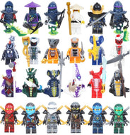 Kitoz 24pcs Ninjago Ghost Evil Ninja Pythor Chop'rai Mezmo Serpentine Army Figure Building Block Toy compatible with lego - thegsnd
